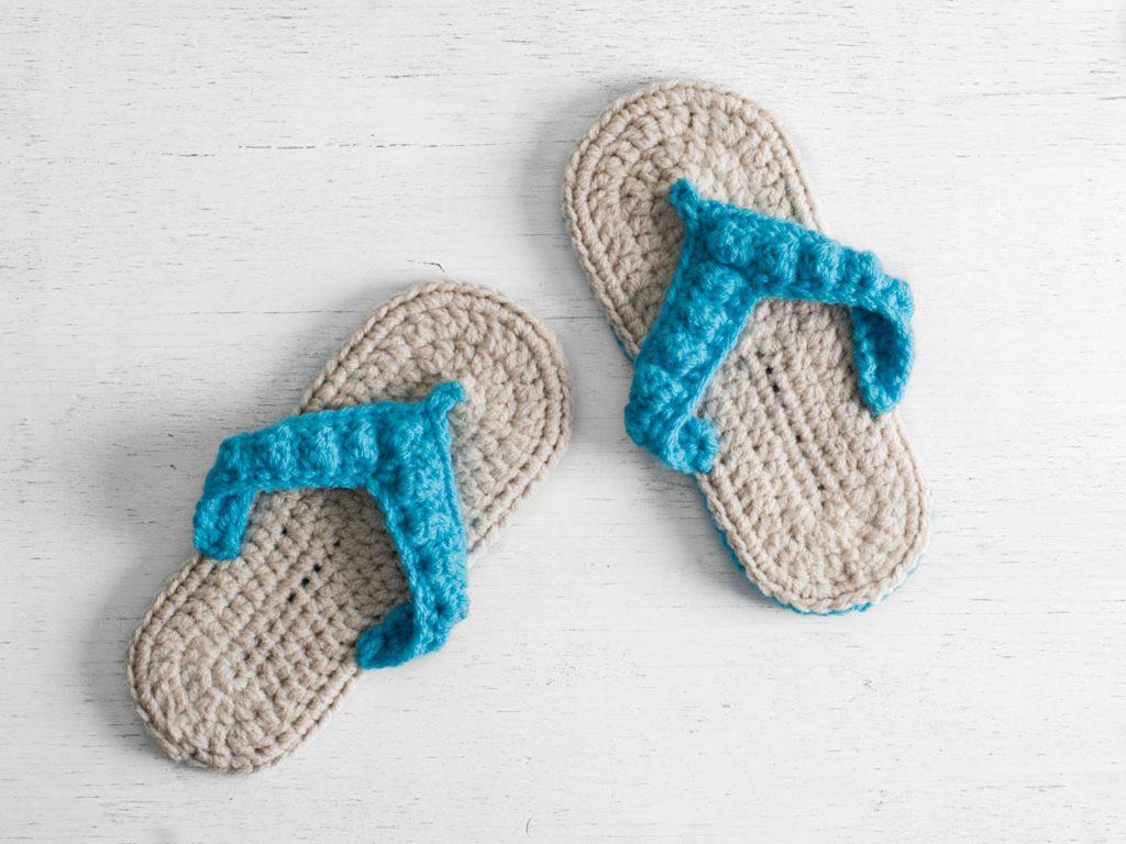 Ocean City Flip Flops Craftsy Crochet Kit