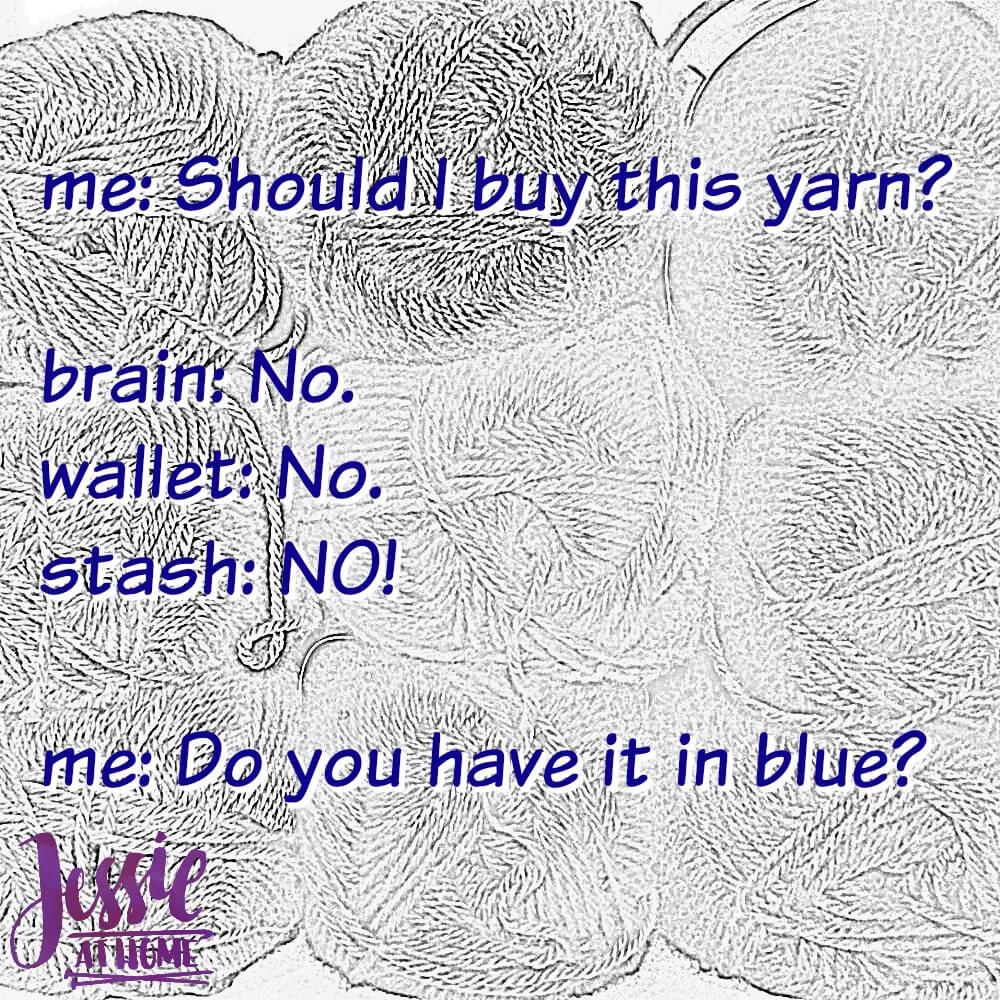 Yarn In Blue