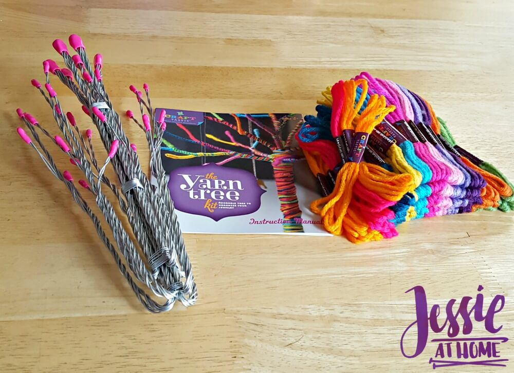 Yarn Tree by Ann Williams review from Jessie At Home supplies