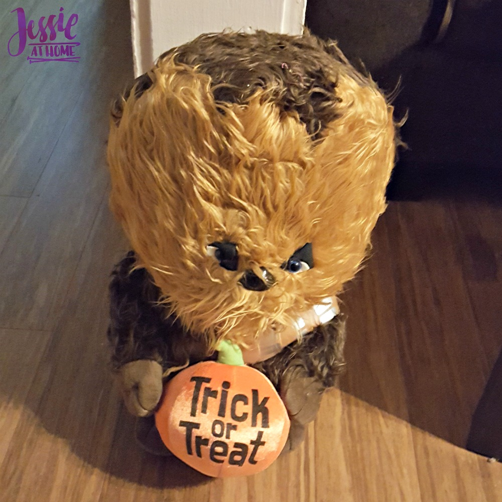 Chewy is ready Halloween 2017