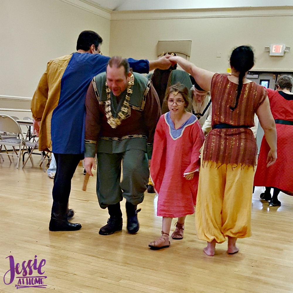 Learning Medieval Dance