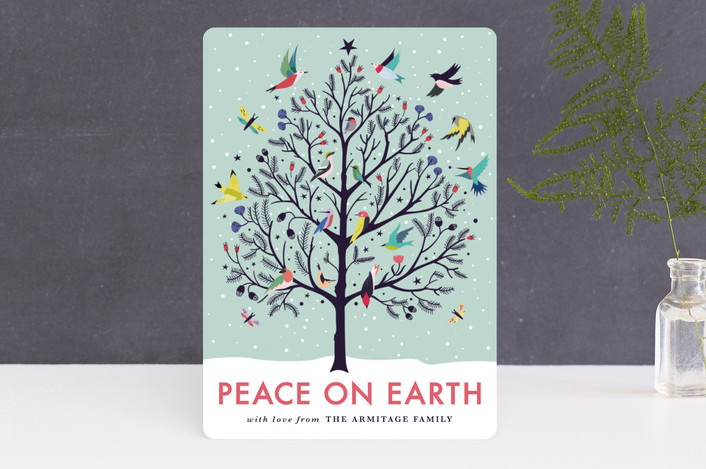 Peace on Earth Minted Card