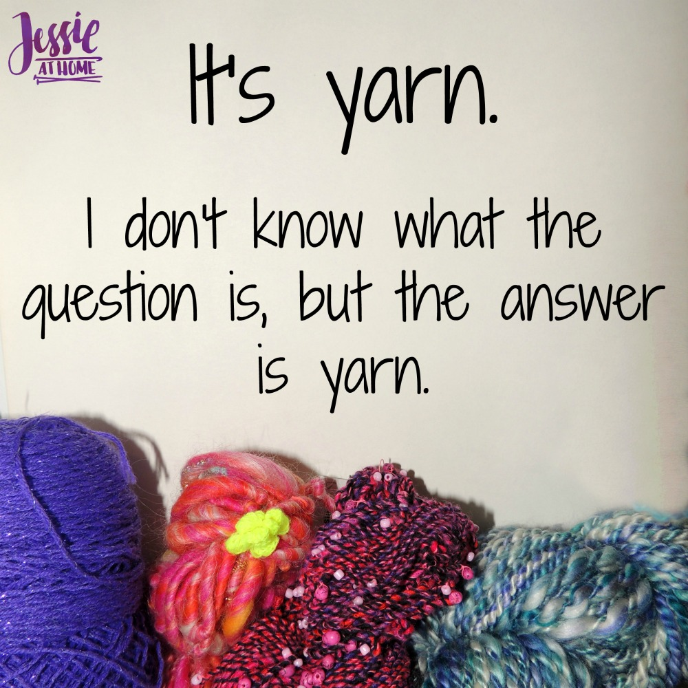 The answer is yarn