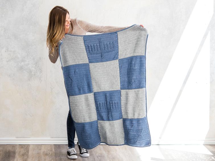 Chanukah Blanket Craftsy Crochet Kit