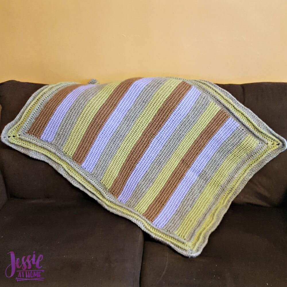 Dreamy Baby - free Tunisian crochet pattern by Jessie At Home - 1