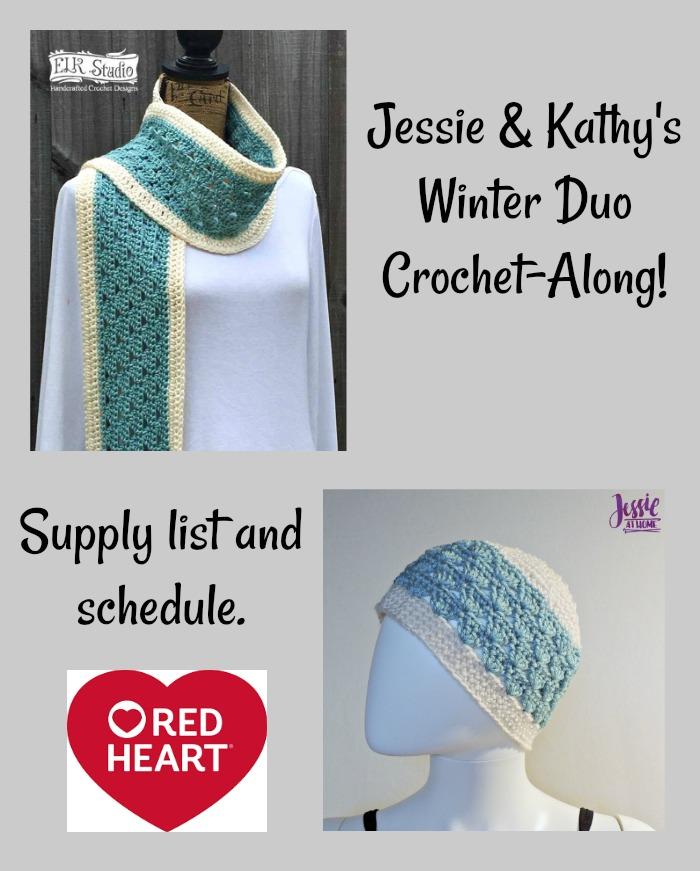 Jessie & Kathy's Winter Duo Crochet-Along