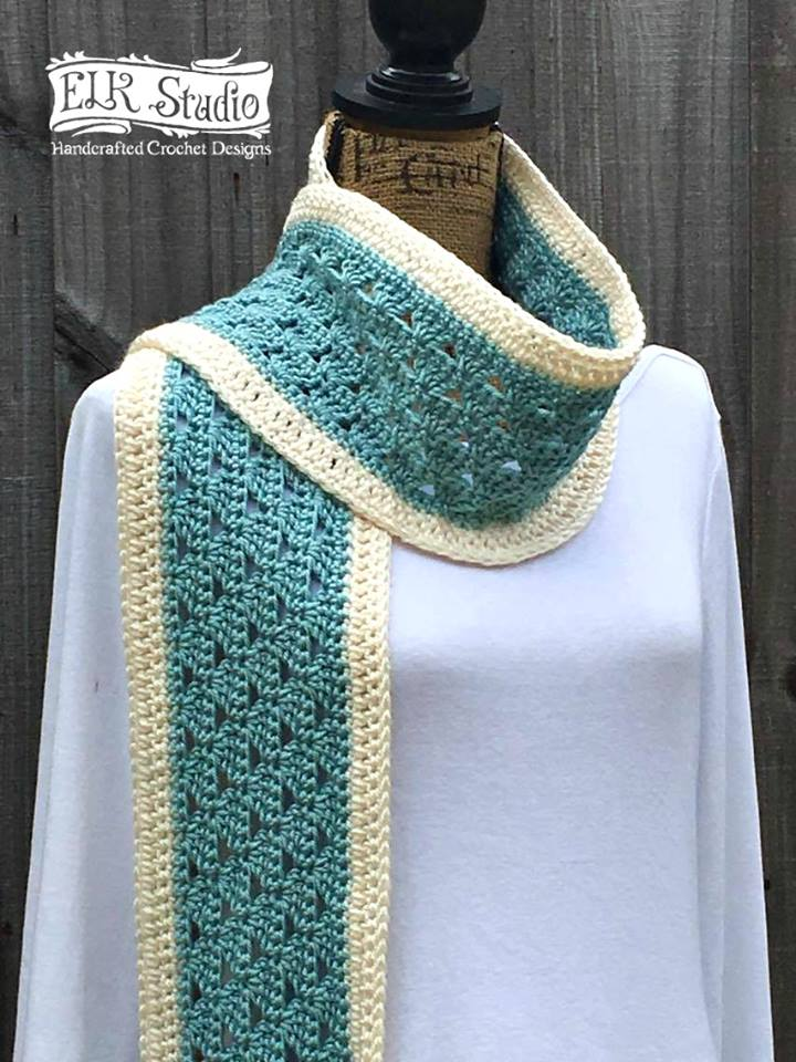 Winter Duo Scarf by Kathy Lashley