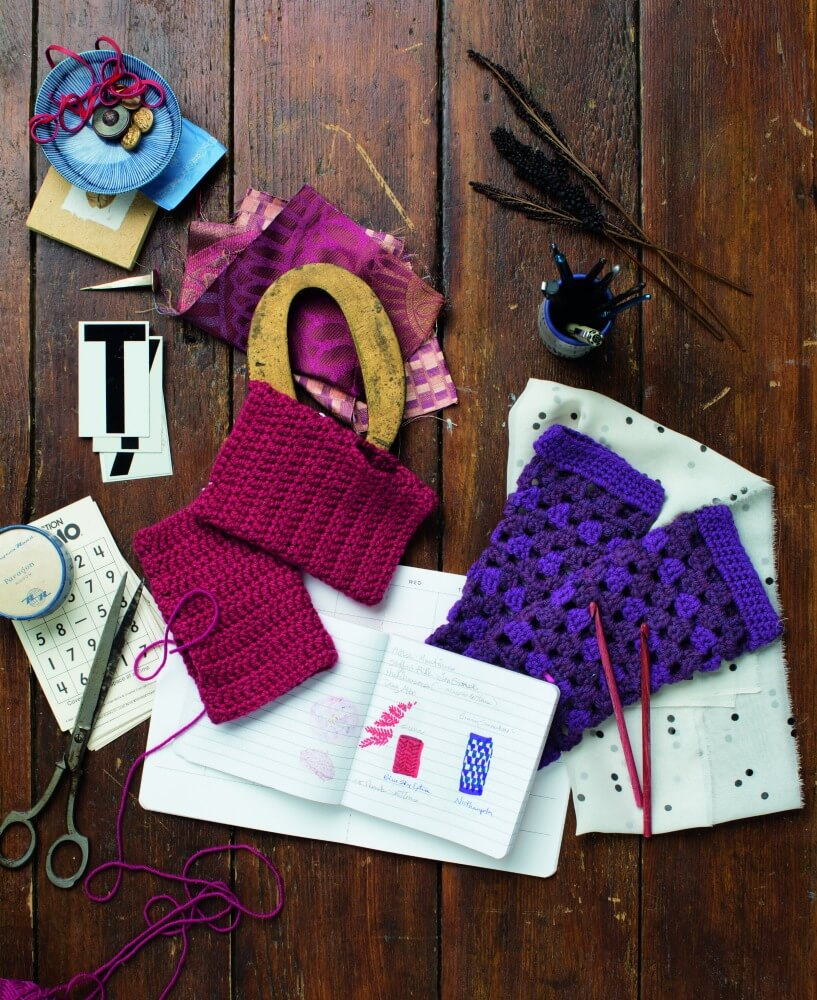 fingerless Mitts Design Your Own Crochet Projects