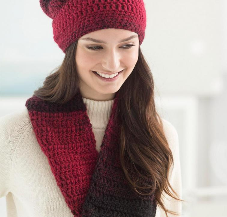Effortless Hat and Cowl Craftsy Crochet Kit