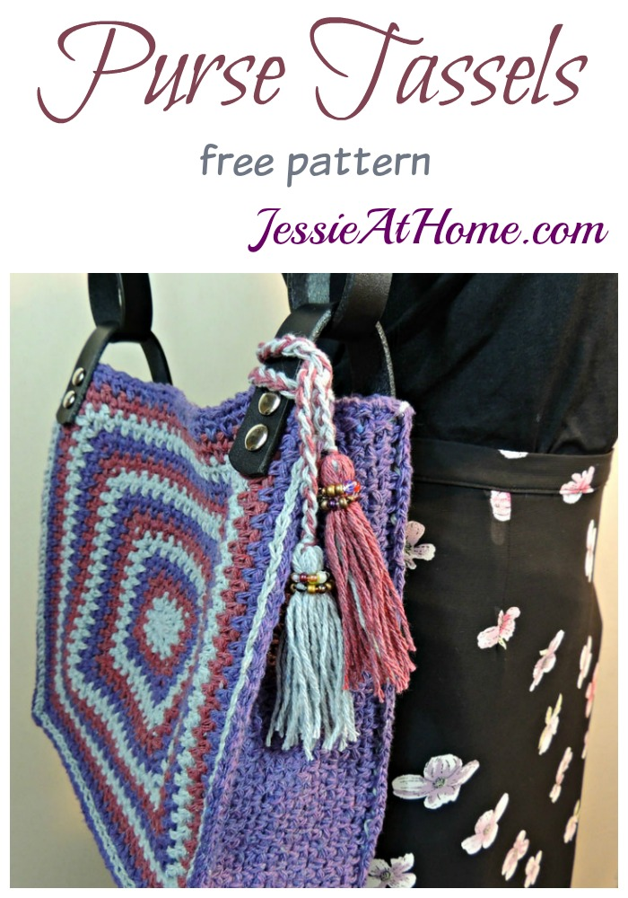 Purse Tassels - free pattern by Jessie At Home