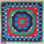 Flower Burst free crochet pattern by Jessie At Home - 1