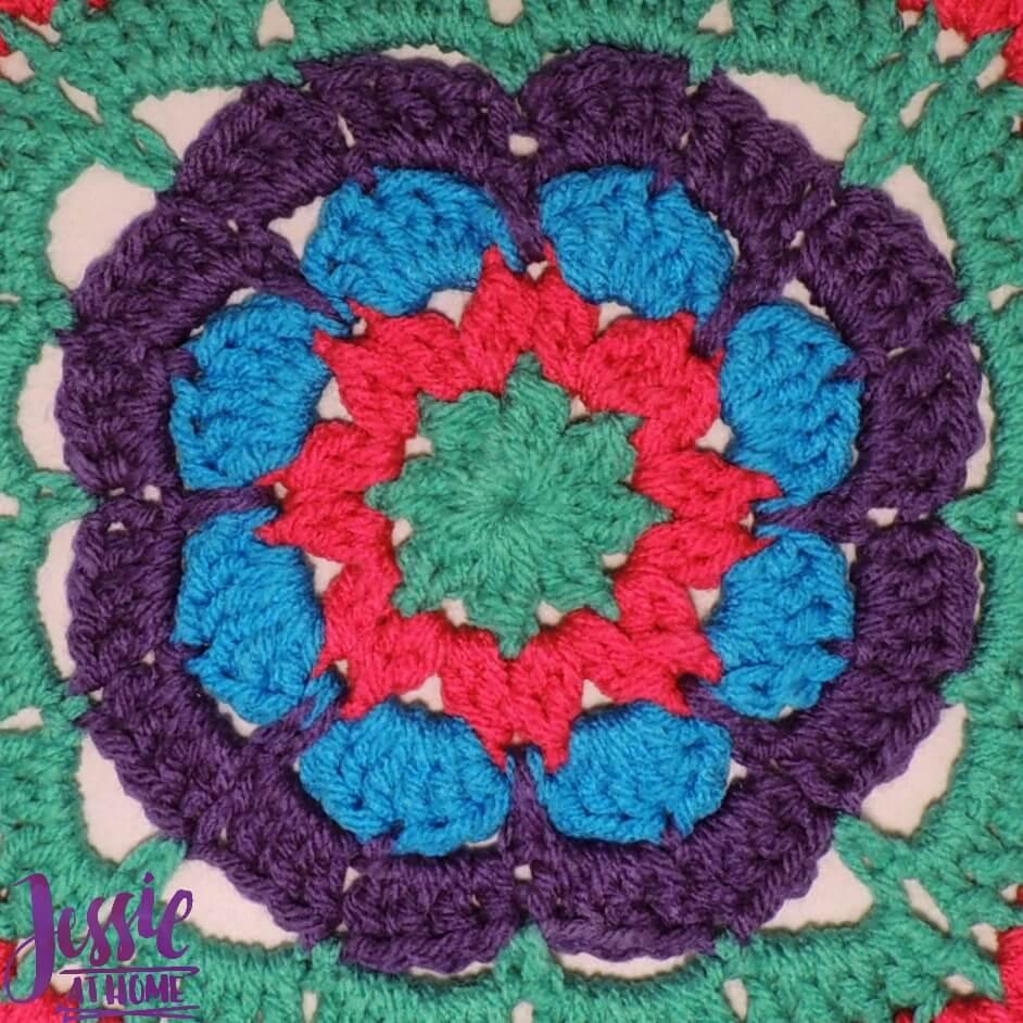 Flower Burst free crochet pattern by Jessie At Home - 2