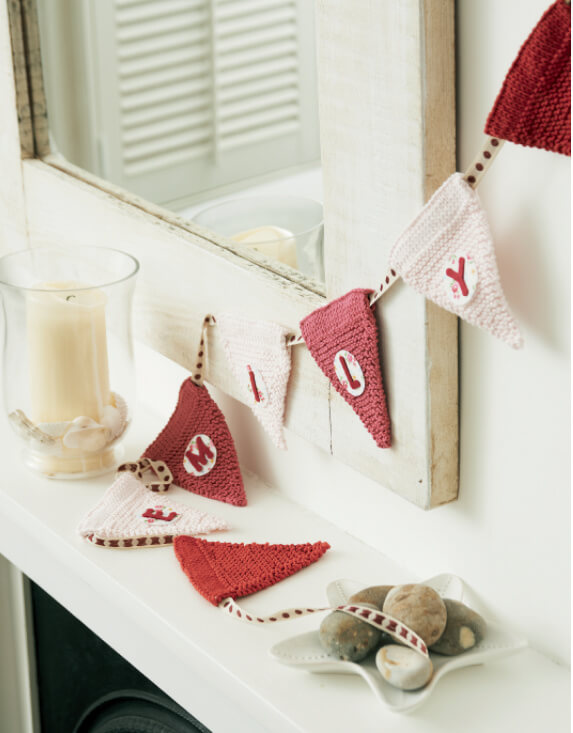 Knit Yourself Calm bunting