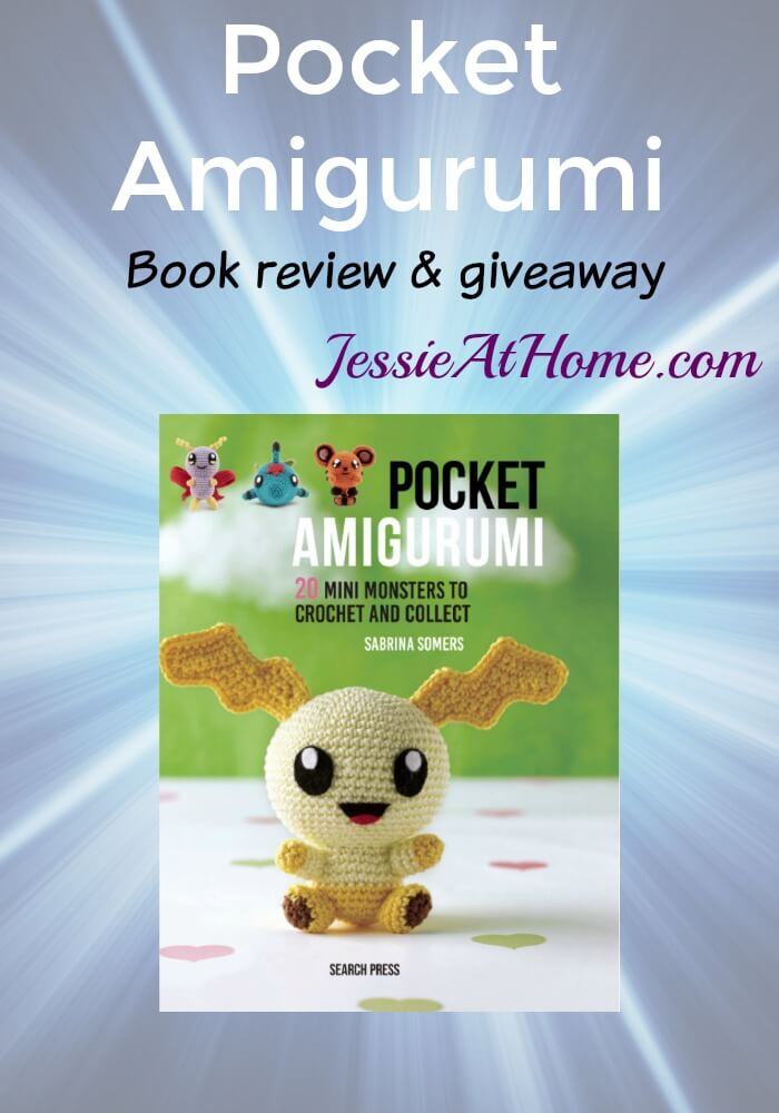 Pocket Amigurumi book review & giveaway from Jessie At Home