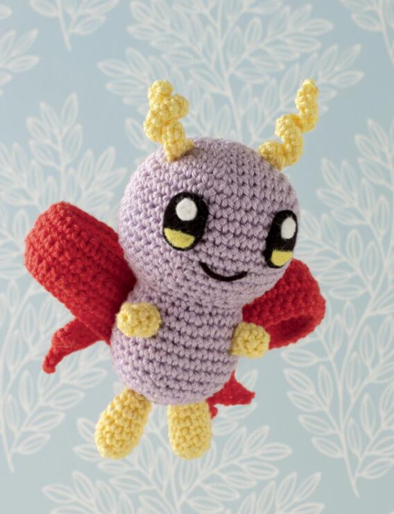 Pocket Amigurumi flying monster