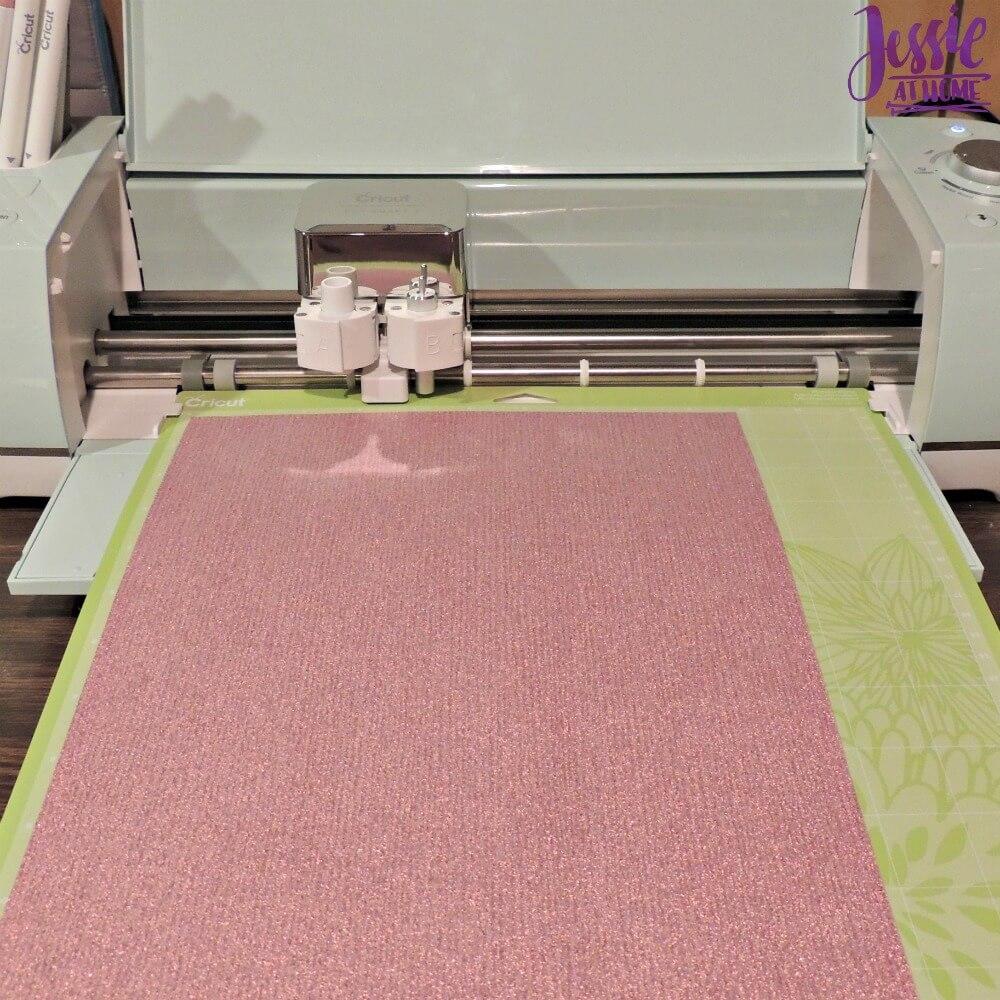 Happy Crafter Glitter Vinyl Koozie by Jessie At Home - 2