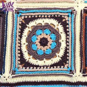 Mandala Blanket crochet pattern by Jessie At Home - 2