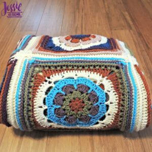 Mandala Blanket crochet pattern by Jessie At Home - 4