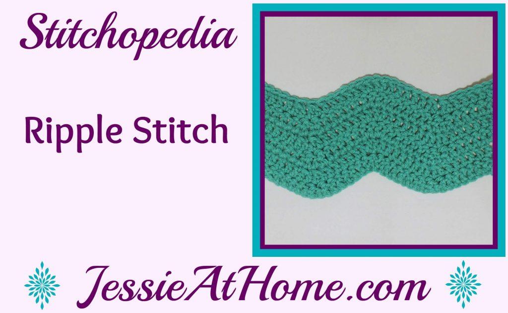 Stitchopedia - Ripple Stitch video tutorial