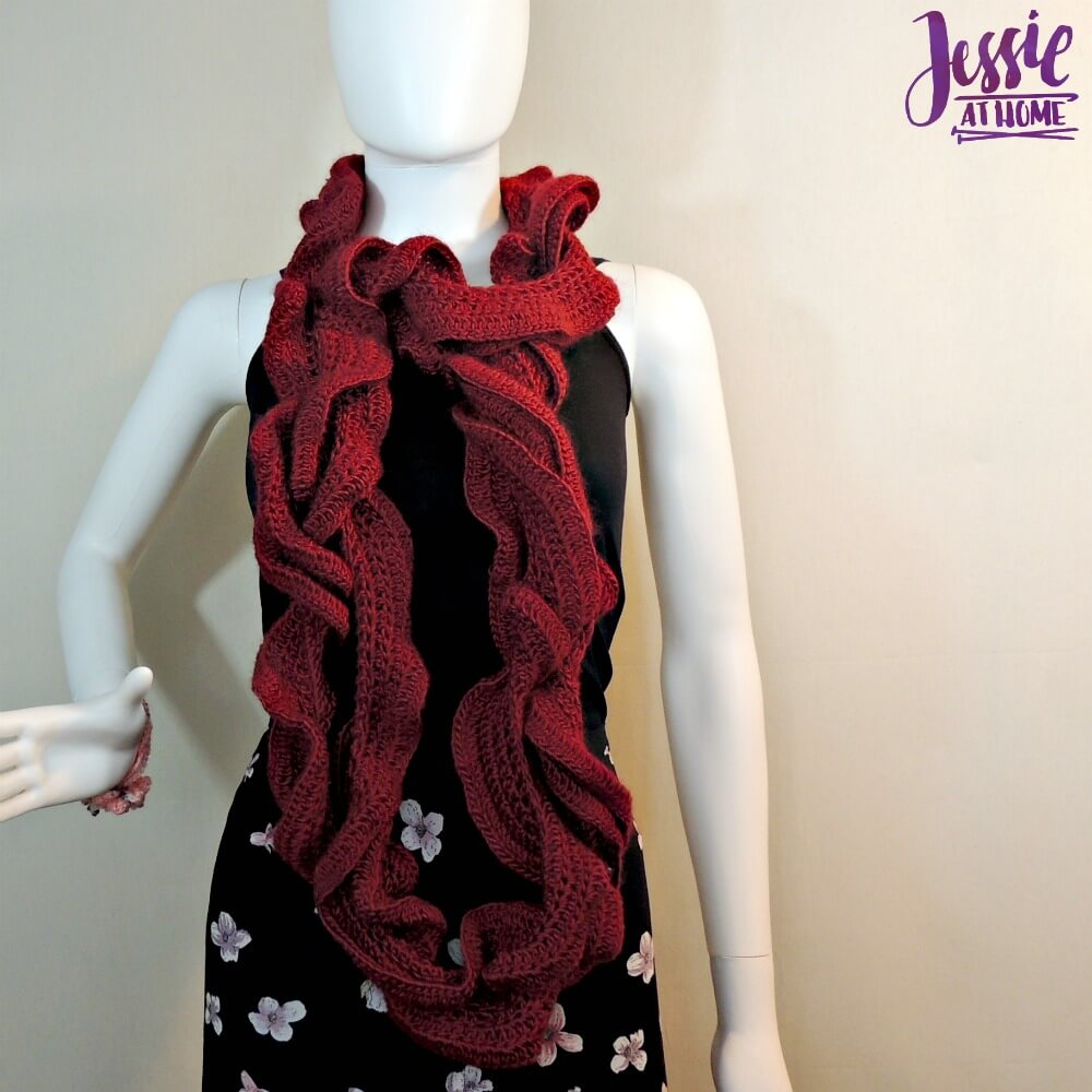 Ruffle Scarf Crochet Pattern Amazing Design Inspiration