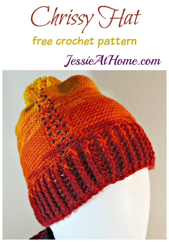 Chrissy Hat - free crochet pattern by Jessie At Home