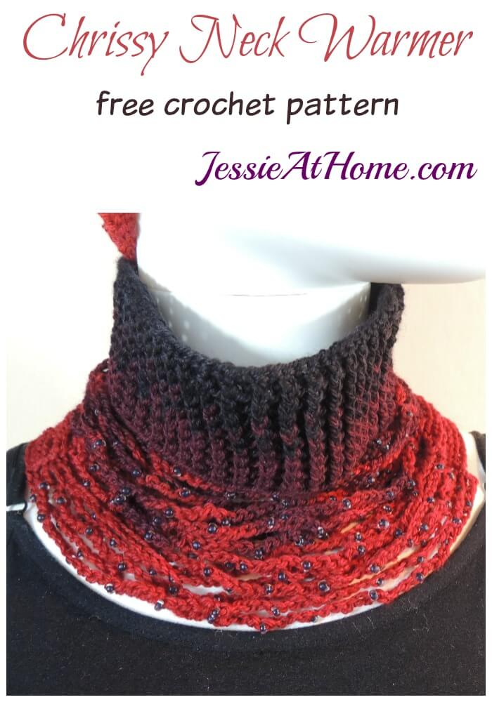 Chrissy Neck Warmer - free crochet pattern by Jessie At Home