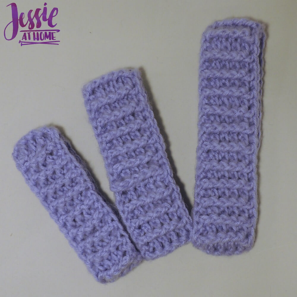 Dreamy Ear Warmers - free crochet pattern by Jessie At Home - 3
