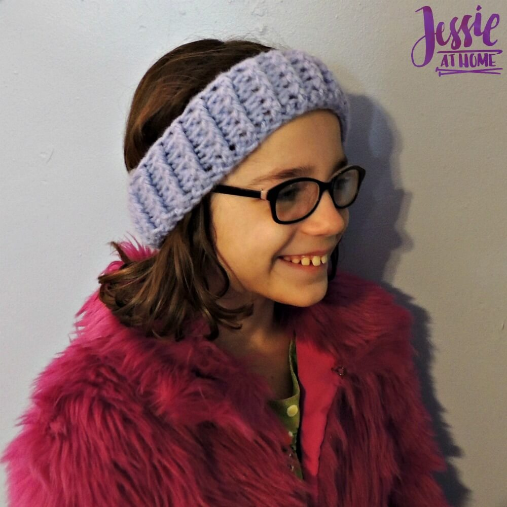 Dreamy Ear Warmers - free crochet pattern by Jessie At Home - 4