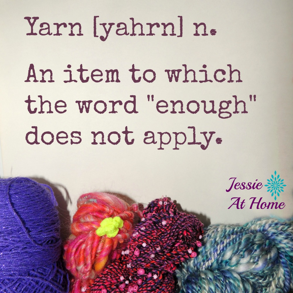 Never enough yarn