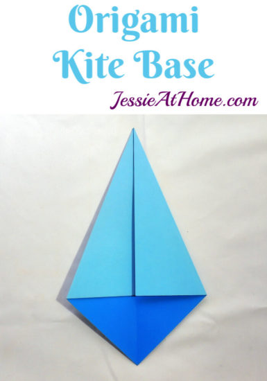 Origami Kite Base Tutorial by Jessie At Home