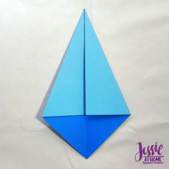 Origami Kite Base Tutorial by Jessie At Home - Done