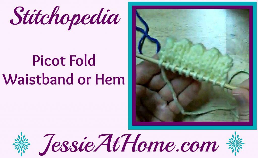 Stitchopedia - Picot Fold Waistband or Hem video cover