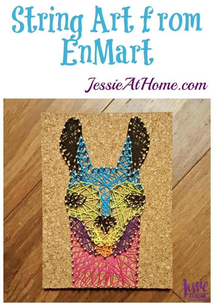 String Art from Enmart product review from Jessie At Home