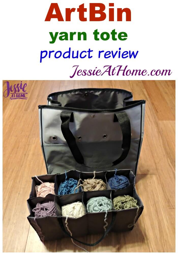 Art Bin Yarn Tote review from Jessie At Home