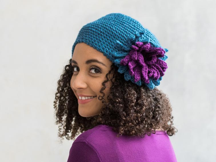 Floral Cloche Craftsy Crochet Kit