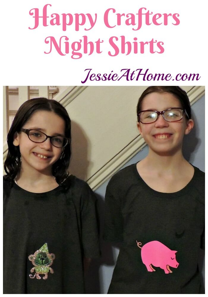 Happy Crafters Night Shirts by Jessie At Home