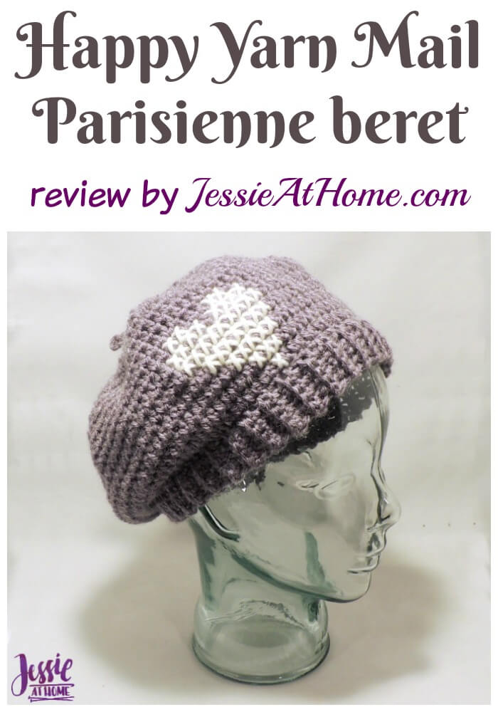 Happy Yarn Mail - Parisienne beret review by Jessie At Home