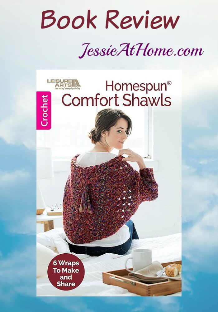 Homespun Comfort Shawls Book Review from Jessie At home