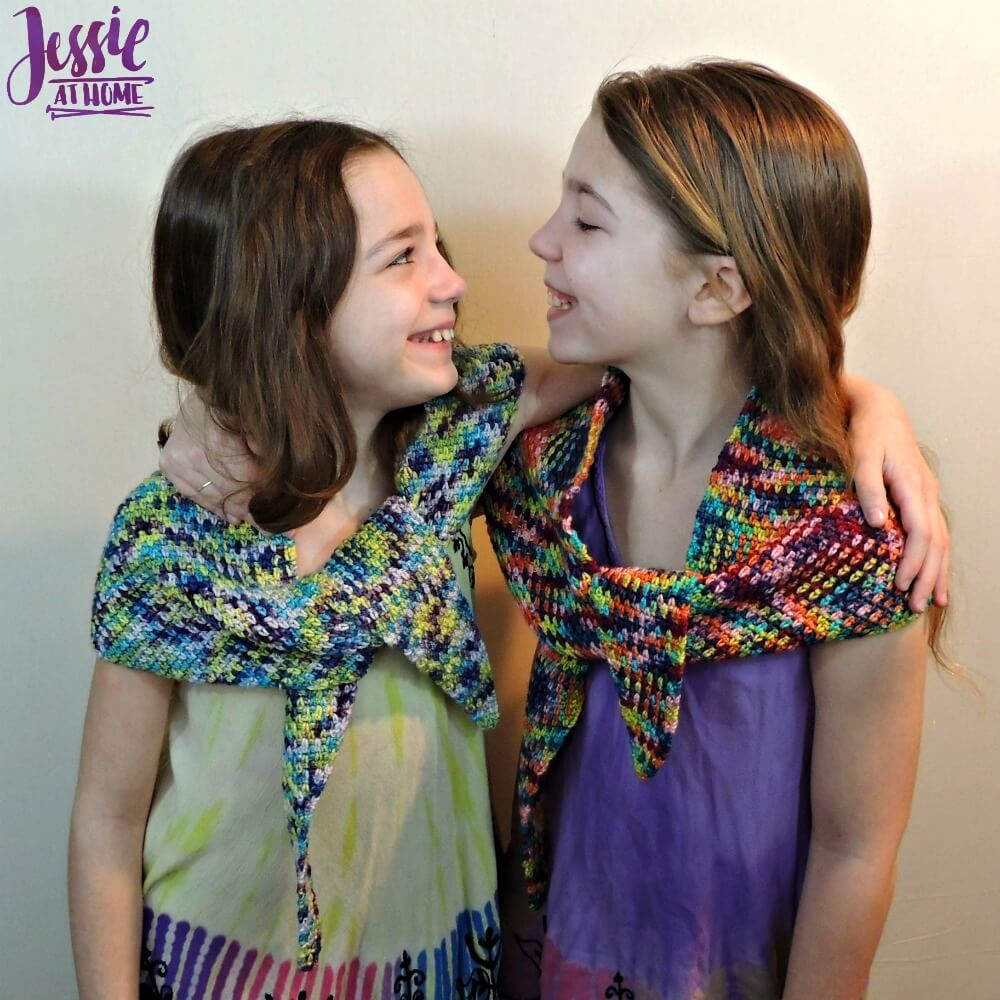 Little One Wraplet - free crochet pattern by Jessie At Home - 2