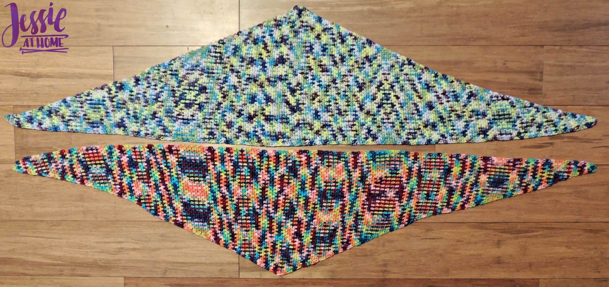 Little One Wraplet - free crochet pattern by Jessie At Home - 4