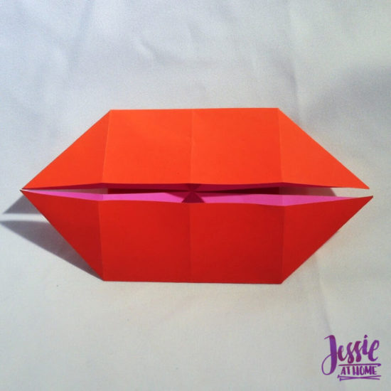 Origami Boat Base Tutorial by Jessie At Home - Done