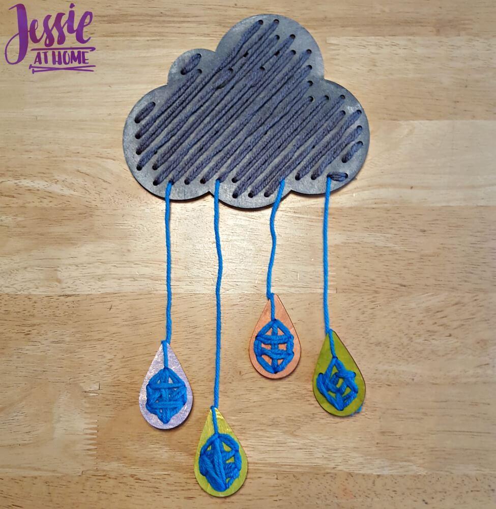 Big Stitch cloud and rain