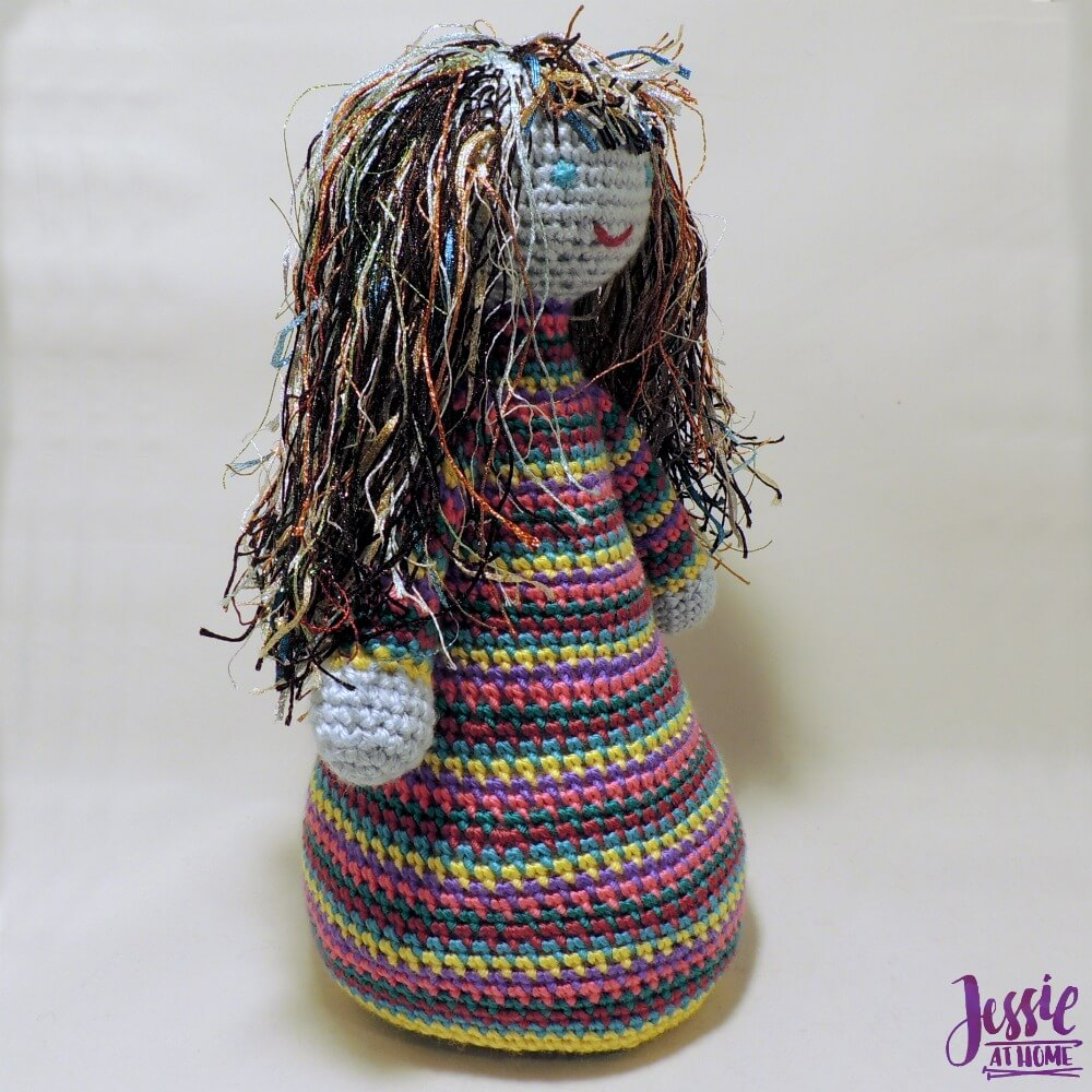 Blue Belle free crochet pattern by Jessie At Home - 3