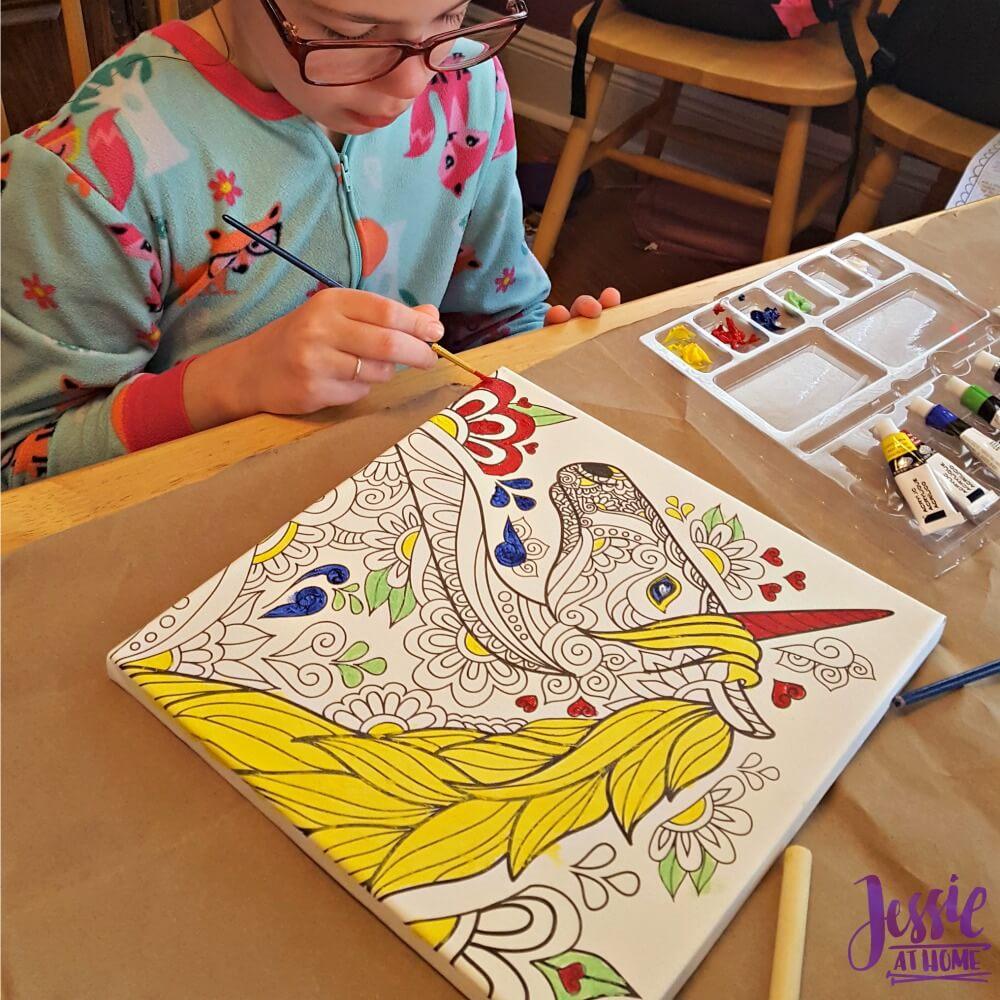 Canvas Art kits Kyla painting