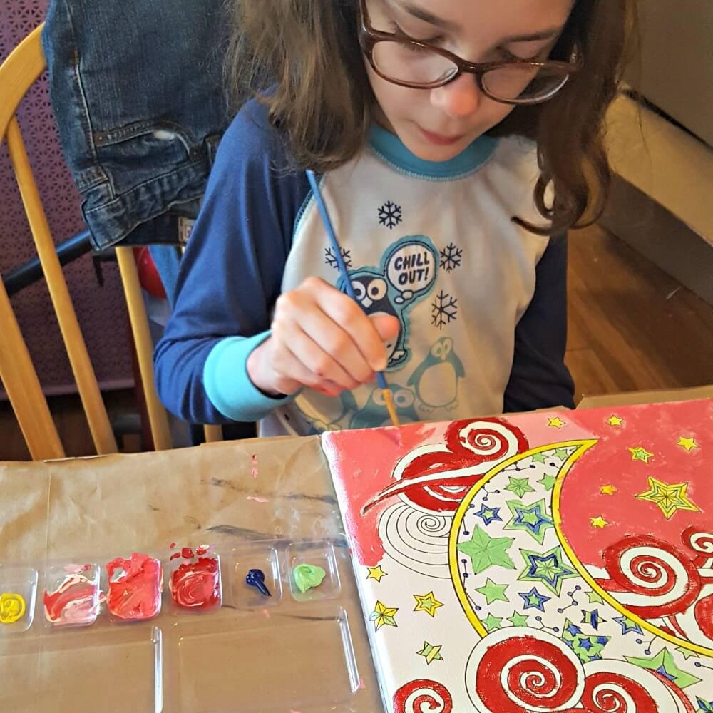 Canvas Art kits Vada Painting