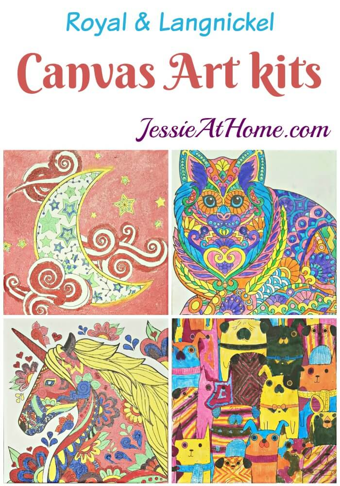 Canvas Art kits review from Jessie At Home