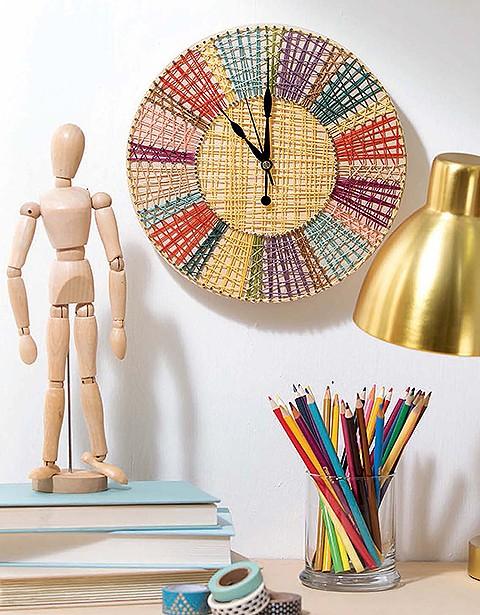 Cool String Art Clock