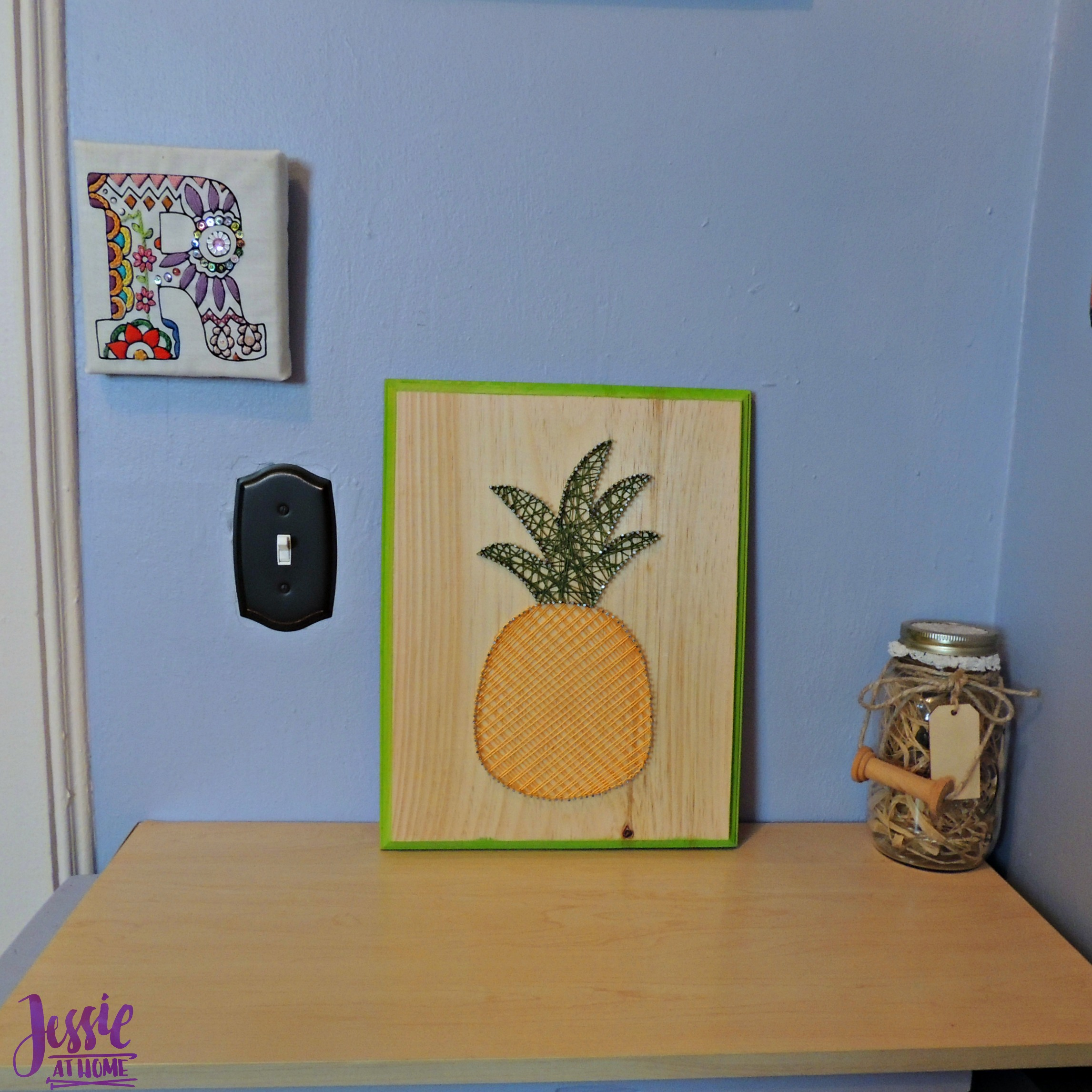 Cool String Art - pineapple