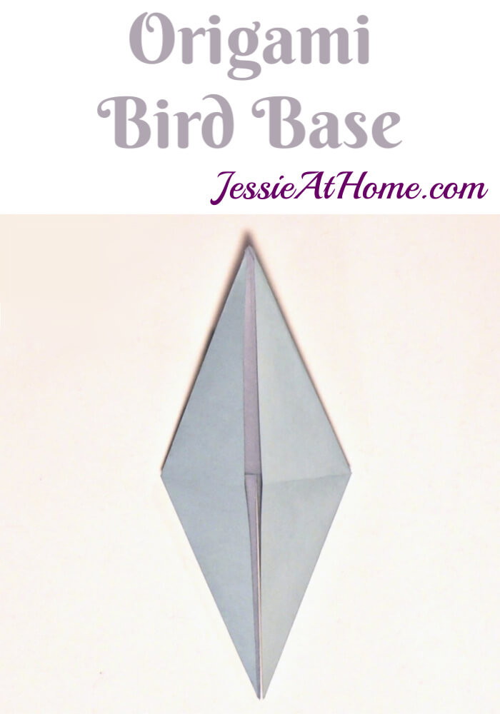 Origami Bird Base Tutorial by Jessie At Home