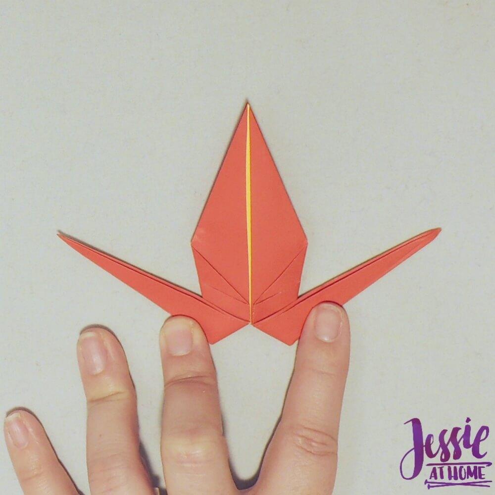 Origami Crane Step 4